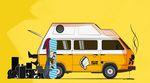 VanLife, Van-Life, Van Life, Bulli, VW Bus, Reisen, Van, Bus, Wohnmobil