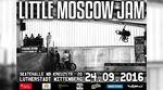 Minirampe fahren bei Flutlicht + Dirtcontest: Am 24.9..2016 geht der traditionsreiche Little Moscow Jam in der Skatehalle Wittenberg in die nächste Runde.