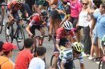 Alberto Contador konnte in der Gruppe der Favoriten um Froome mithalten und kam mit seinen Rivalen ins Ziel. (Foto: Sirotti)