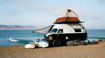 Surfer Roadtrips Top 10 Reisen - VW Bulli am Strand
