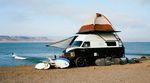 Surfer Roadtrips Top 10 Reisen - VW Bulli am Strand
