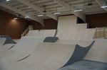 Rampenbereich der Skatehalle Oldenburg