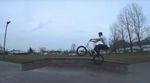 BÄM! Dennis Erhardt haut auf der Skaterbahn von Staufen eine Babaline für Gangbang Bikes raus, die mit echten Grinds und Power Wheelies bestückt ist.