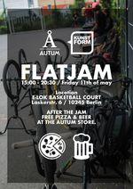 Als Warm-up für den Flatlandcontest auf dem Highway to Hill laden die Homies von Autum Bicycles am Freitag zu einem Flatlandjam in Berlin-Friedrichshain ein