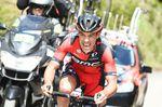 Richie Porte lässt beim Kampf um den zweiten Platz nichts anbrennen. Foto: Sirotti