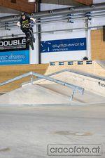 Gap to Flat in der WUB Skatehalle Innsbruck von Clemens Kartmann