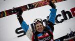 Stefan Häusl feiert seinen Sieg in Fieberbrunn