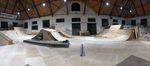 Fahrspaß pur: Der Parkbereich der Reithalle Ulm wurde umgebaut und die gesamte Halle mit einem Holzboden versehen
