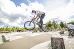 Nils Jacob, Barspin Drop beim BMX Männle Turnier 2017