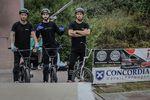 Die Drei von der Tankstelle (v.l.): Ricky Felchner, Miguel Franzem und Tobias Freigang