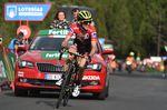 14-09-2018 Vuelta A Espana; Tappa 19 Lleida - Col De La Rabassa; 2018, Mitchelton - Scott; Yates, Simon; Col De La Rabassa;