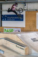 Noch mehr Oldschoolvariationen auf der Jumpbox: Federico Barnaba zeigt einen Griz (Foto: Sebastian Marggraff) …