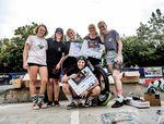 Die Gewinnerinnen des BMX Männle 2019 im Skatepark Tuttlingen