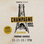 """Am 1. November 2019 gibt es das neue """"Champagne""""-Video von Kink BMX in der Skatehalle Oldenburg zu sehen"""