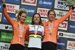25-09-2018 World Championships Elite Women Cronometro; 2018, Olanda; Van Der Breggen, Anna; Van Vleuten, Annemiek; Van Dijk, Ellen; Innsbruck;