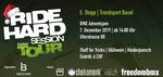 Der letzte Stopp der Ride Hard Session Tour 2019 findet am 7. Dezember in der Trendsporthalle Basel statt. Hier erfährst du mehr.