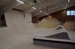 Step-up und Wallride in der Skatehalle Oldenburg