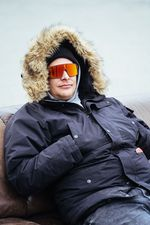 Markus Wilke und seine Oakley-Sonnenbrille waren die heimlichen Stars der Veranstaltung