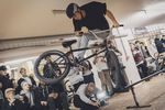 Robin Kachfi mit einem Rail to Hard Whip to 2nd place auf der kunstform Stock Session 2017 in Stuttgart