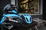 Helmets, Team Sky, pic: ©Paul Hayes-Watkins, used with permission