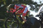 Simon Yates (Mitchelton-Scott) konnte seine Führung im Gesamtklassement weiter ausbauen. Der Brite liegt jetzt 33 Sekunden vor Alejandro Valverde (Movistar). (Foto: Sirotti)