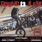 Anlässlich seines 13. Geburtstag schmeißt der kunstform-Teamfahrer Mika Köhler am 24.2.2018 einen Jam in Stuttgart, zu dem ihr alle herzlich eingeladen seid