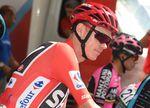 Kann Froome nicht schlüssig erklären, wieso es zu den erhöhten Werten in der Ruinprobe gekommen ist, drohen ihm eine Sperre und womöglich die Aberkennung seines Sieges bei der Vuelta 2017. Foto: Sirotti