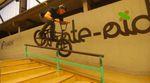 Johannes Spahn, Alex Schmitt, Kalle Frank und Daniel Peter von Da Crew. aus Schweinfurt haben ein paar Tage in der Skatehalle Aurich verbracht.