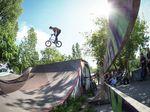 Rasant, rasanter, Highway to Hill! Sebastian Gerlich hat sich für uns bei der diesjährigen Auflage des Berliner BMX-Festivals ins Getümmel gestürzt.