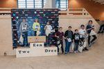 Die Gewinner der Klasse Jugend Men bei den German Open 2019 in der Skatehalle Oldenburg
