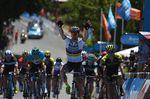 Peter Sagan (Bora-Hansgrohe) gewinnt den Sprint der 4. Etappe bei der Tour Down Under und geht in die Führung der Gesamtwertung. (Foto: Sirotti)