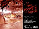 Am 5.3.2016 steigt die letzte BMX-Session in der Boost-Halle in Stuttgart, bei der es insgesamt 500 Euro Preisgeld zu gewinnen gibt