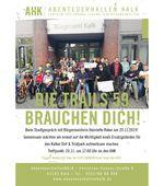Die Zukunft der Trails59 in Köln ist ungewiss. Beim Stadtgespräch mit Bürgermeisterin Reker wollen die Betroffenen auf die Thematik aufmerksam machen.