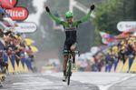 5. Etappe - Lars Boom (Belkin Pro Cycling) siegt mit einer unfassbaren Energieleistung bei übelsten Bedingungen auf Kopfsteinpflaster und Schlamm zwischen Ypres und Arenberg. (Foto: Sirotti)