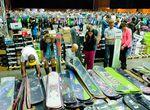 Jagd nach 15.000 Schnäppchen rund um Snowboard, Freeski, Skate und Surf sowie trendige Streetwear, Schuhe und Accessoires beim großen Blue Tomato Lagerabverkauf in der Tonhalle München.