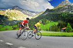 Die Gegend rund um Gstaad bietet Radfahrern viele schöne, aber auch anspruchsvolle Routen.