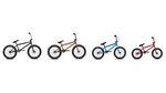 Egal ob Highend- Mittelklasse- oder Einsteigerrad, 20, 18 oder 16 Zoll –die erste Komplettradlinie von Mankind Bike Co. bietet für jeden Geschmack etwas.