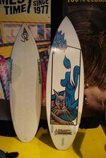 lip tech Surfboard