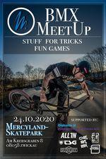 Am 24. Oktober 2020 findet im Mercyland Zwickau ein BMX-Meetup von CT Freestyle BMX statt