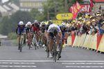 Peter Sagan im Sprint. Foto: Sirotti