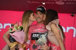Rohan Dennis (BMC) konnte seine Führung in der Gesamtwertung halten und behält das magla rosa. (Foto: Sirotti)