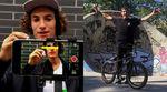 """Unentschieden! Platz 3 beim """"Sosh Urban Motion""""-Smartphonevideocontest teilen sich Simone Barraco/Alex Baret und Maxime Charveron/Matthias Dandois."""