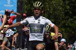 Caleb Ewan (Mitchelton-Scott) holt sich den Tagessieg auf der zweiten Etappe bei der Tour Down Under. (Foto: Sirotti)