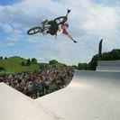 BMX Spine Ramp auf dem Coubertinplatz. Foto: Munich Mash