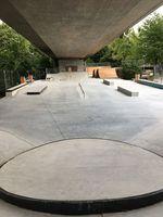Overview Skatepark Friedrichshafen