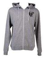 Fit Hoody Script Heather_1
