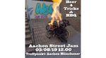 Am 3. August 2019 findet zum ersten Mal ever ein Streetjam in Aachen statt. Unterstützt wird das Ganze vom kunstform BMX Shop. Hier erfährst du mehr.