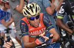 """Radprofis, unter anderem Nibali, bezeichnen die Bekanntgabe der Adverse Analytical Findings (AFF) bei Froome als """"schlechte Nachtrichten für den Radsport"""" (Foto: Sirotti)"""