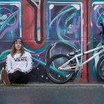 Lara Lessmann ist neu im BMX-Europateam von VANS