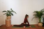 Pigeon Pose - Yoga Freeskiing